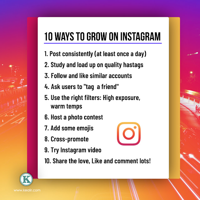 Ways to drive more Instagram Followers