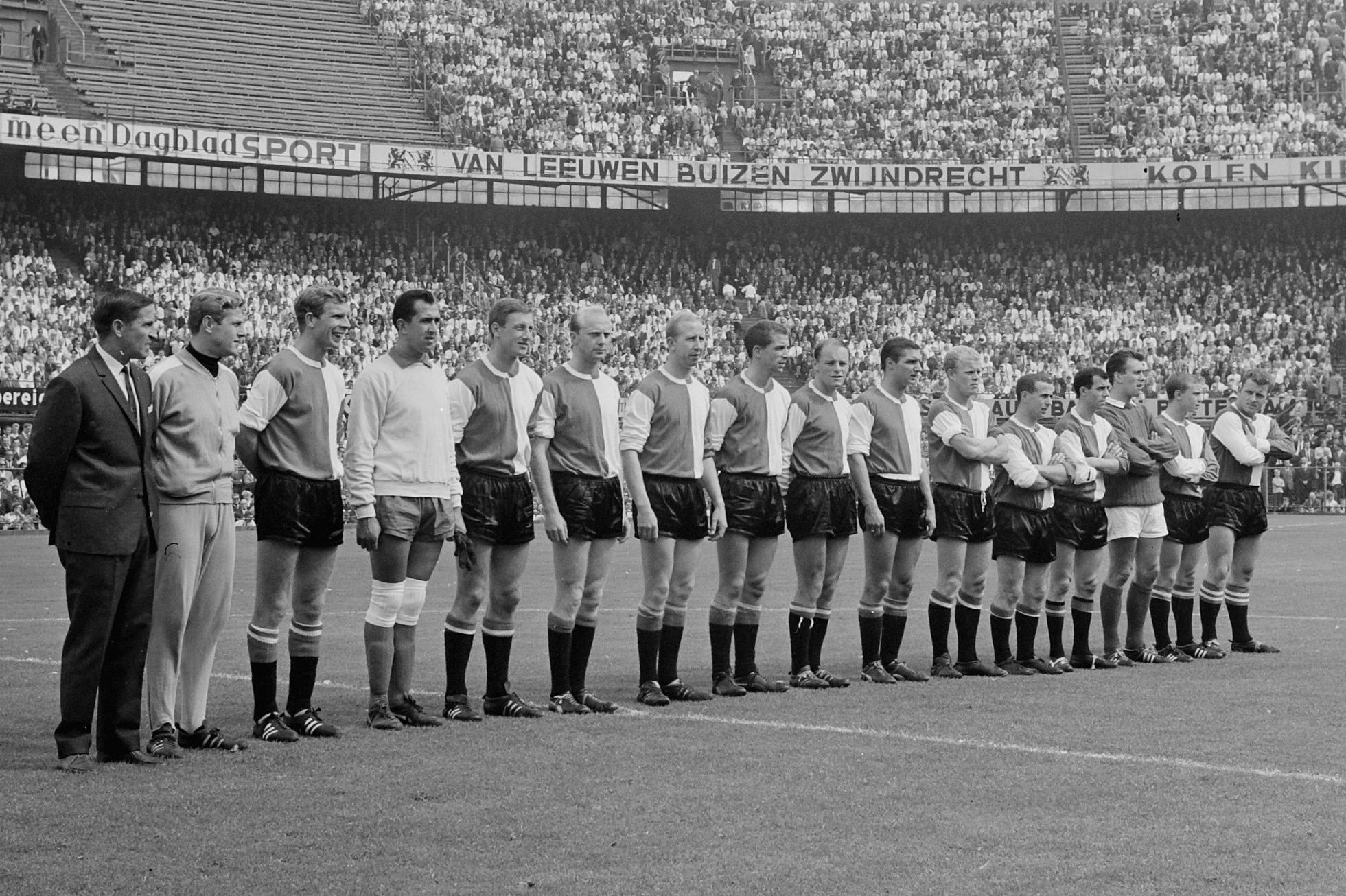 Elftalfoto Feyenoord 1964