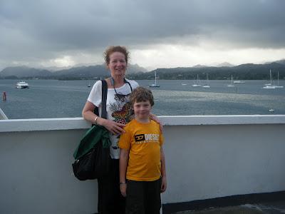 ferry deck