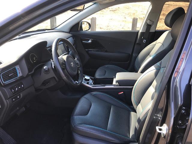 Interior view of 2019 Kia Niro EV EX Premium