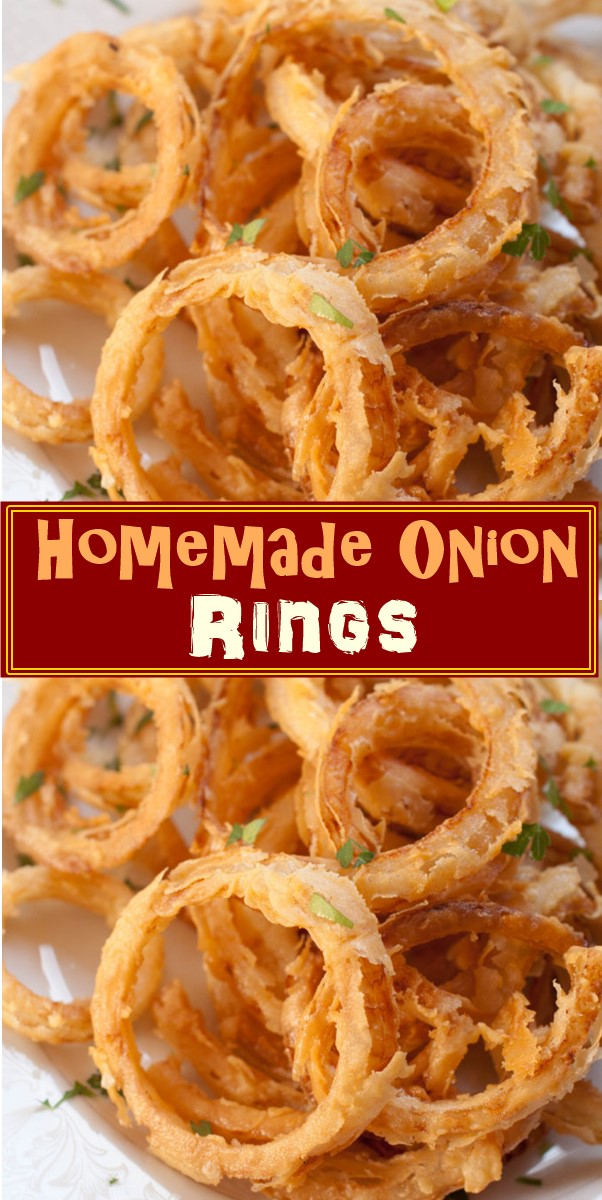 Homemade Onion Rings #appetizerrecipes