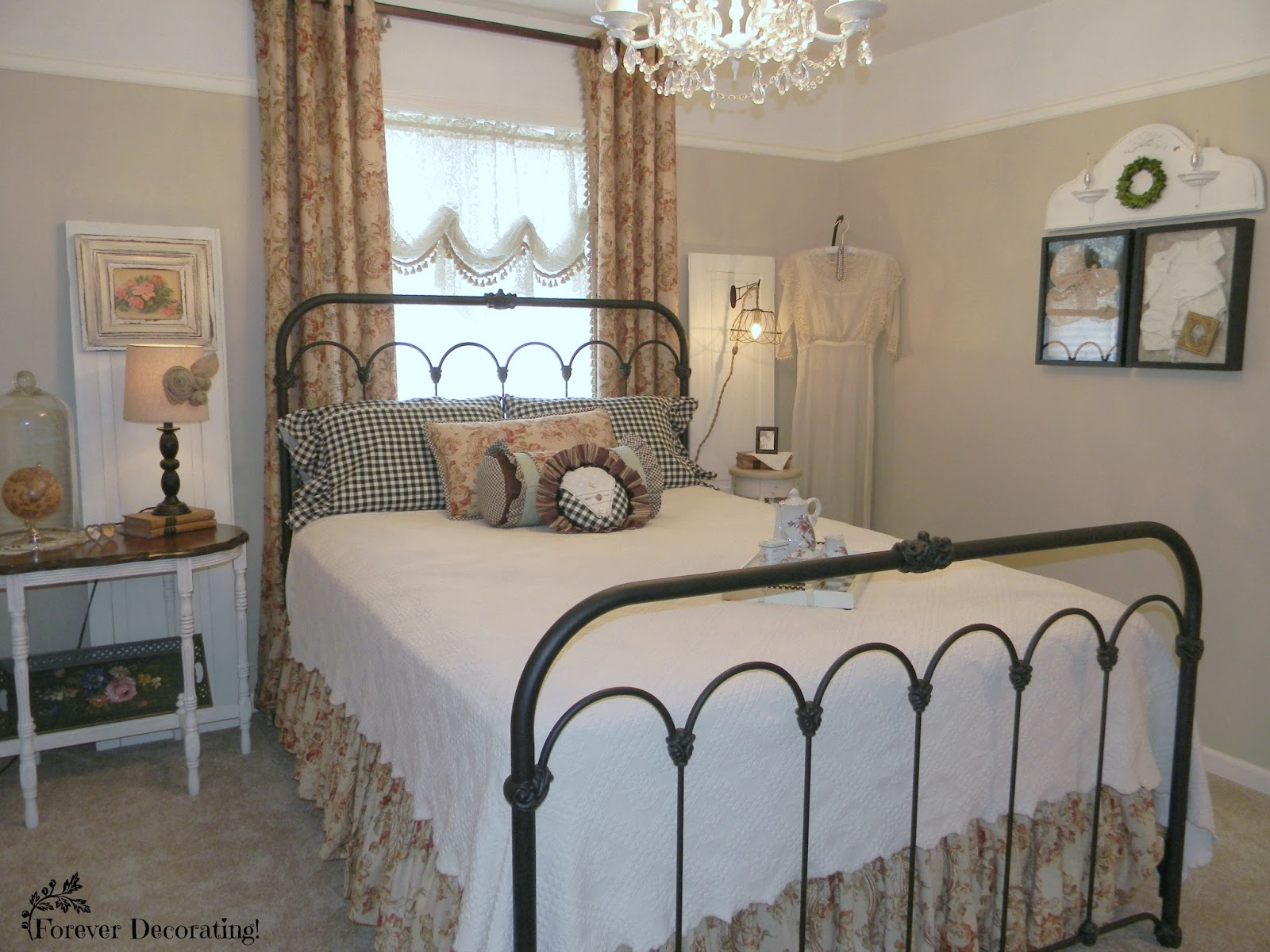 Guest Bedroom Reveal ~ MacKenzie-Childs Style