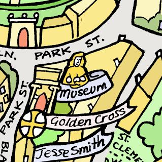 KBMorgans handdrawn map