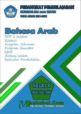 Perangkat Pembelajaran Bahasa Arab Kurikulum 2013 Revisi Terbaru