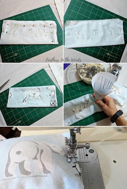 easy sew | headache pillow