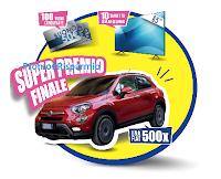 Logo Sottilette ''Facciamolo esagerato'': vinci 100 buoni carburante, 10 TV  Samsung e 1 Fiat 500
