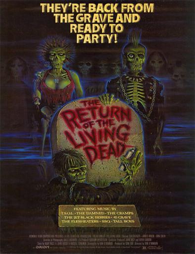 Ver El regreso de los muertos vivientes (1985) Online