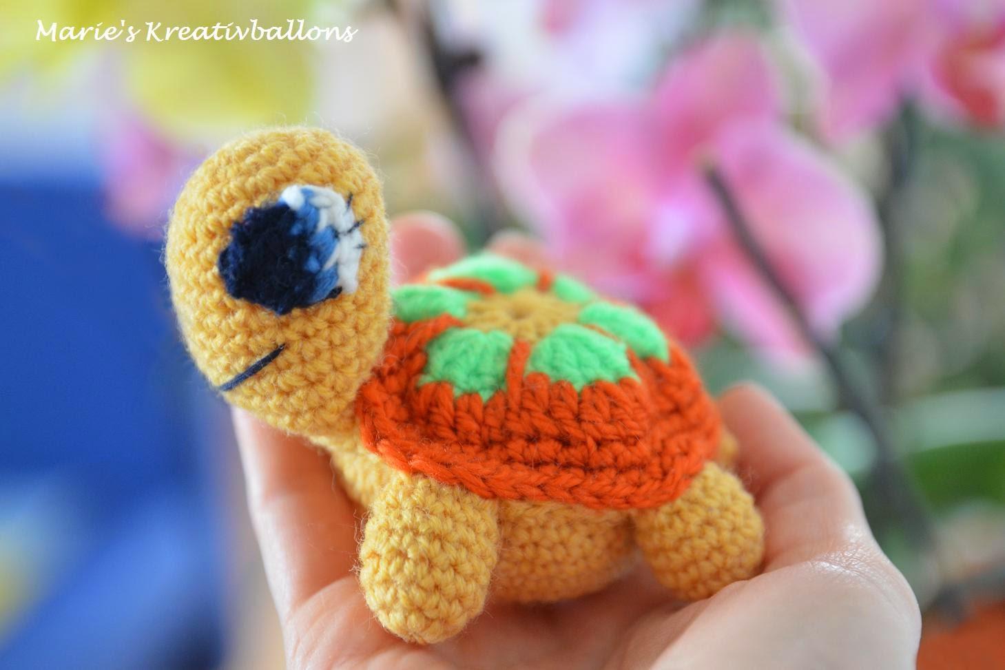 Amigurumi Schildkröte häkeln Anleitung