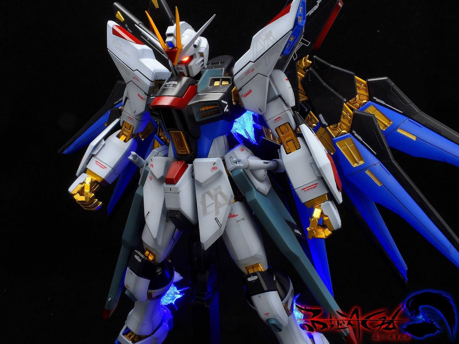 GUNDAM GUY: MG 1/100 Strike Freedom Gundam - Customized ...