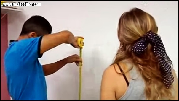 medindo papel de parede
