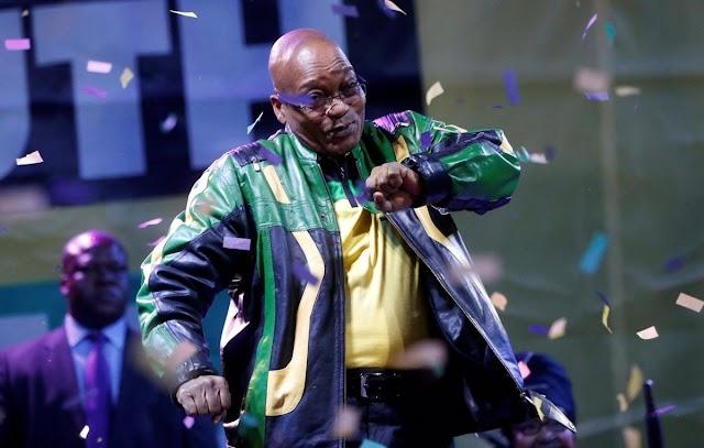 El expresidente sudafricano Jacob Zuma se entregó a las autoridades