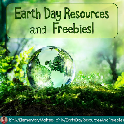 Earth Day Resources and Freebies Looking for ideas to help your children think about Earth Day? Here are several ideas as well as 2 freebies!