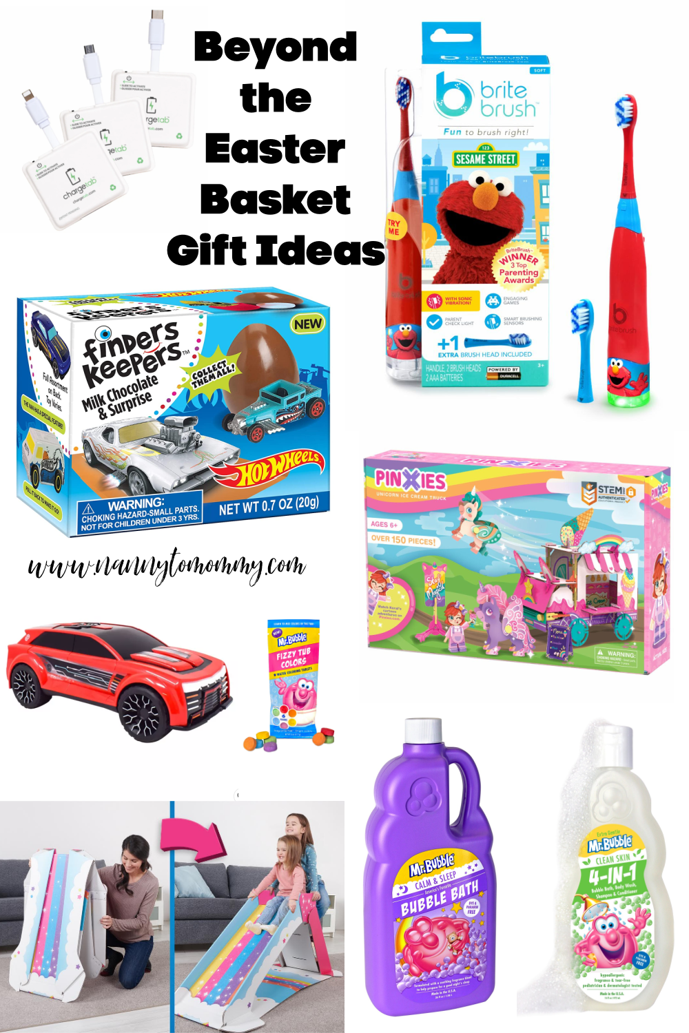 Untraditional Easter Basket Gift Ideas