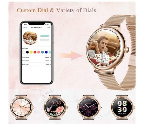 SKMEI Android iPhones Women Smart Watch