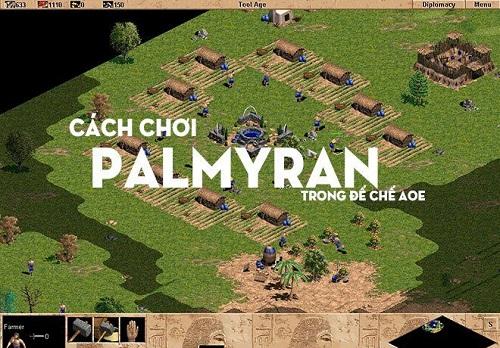 Palmyran là một trong những loại quân tuyển chỉ trong map Large