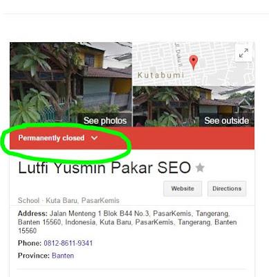 Jangan bingung jika Alamat Google Business Terhapus