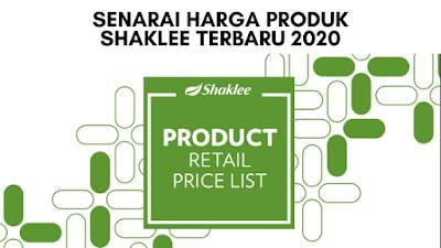 Senarai Harga Produk Shaklee Terbaru 2020