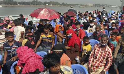 The second batch of Rohingya will move to Bhashan Char