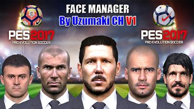 PES 2017 Facepack Manager V1 By Uzumaki CH