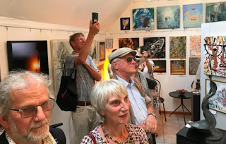 Visitantes del Museo de Arte Europeo de Dinamarca