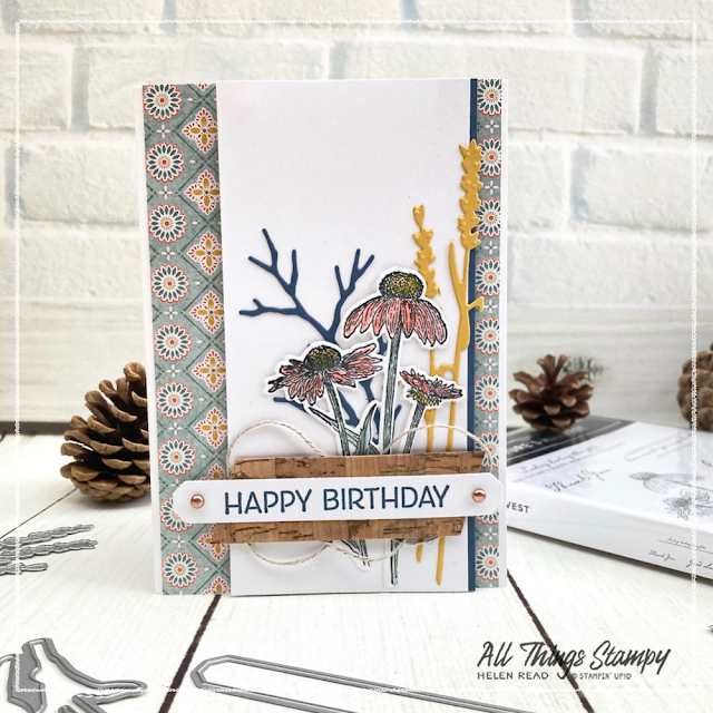 Harvest Meadow Stampin Up card idea