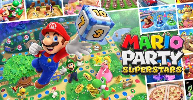 Mario Party Superstars (Switch) terá localização para o português do Brasil