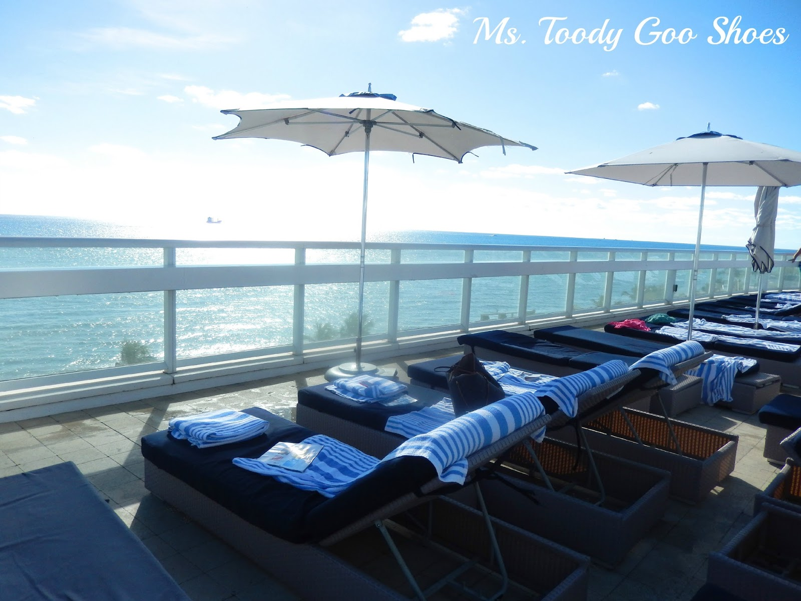 W Hotel Ft. Lauderdale, Florida --- by Ms. Toody Goo Shoes