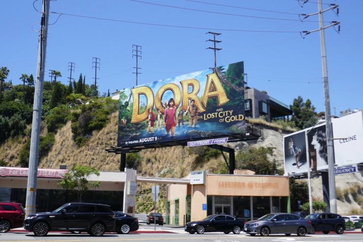 Dora Lost City of Gold billboard