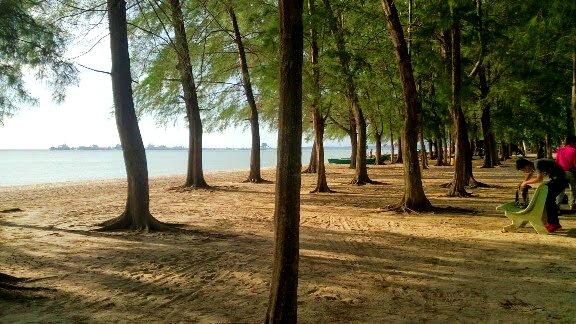 Pantai puteri Tempat Menarik di Melaka