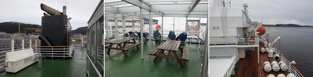 Hurtigruten MS Vesterålen - Open Decks