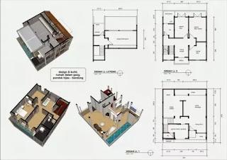 Jasa desain rumah murah, Arsitek profesional di Lampung
