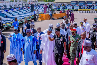 Buhari Commissions New Police Vehicles And Police Crime Database Centre