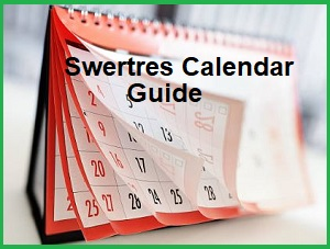 Swertres Calendar Guide To Win Swertres Lotto