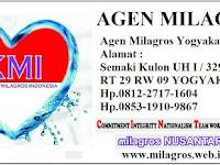 Agen Milagros Yogyakarta Telp 0812-2717-1604
