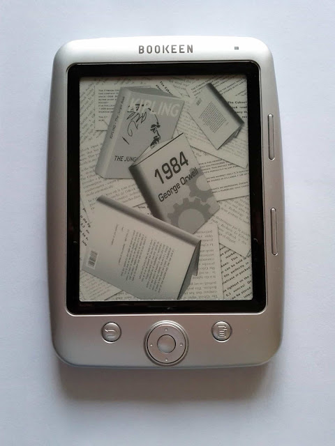 Bookeen Cybook Opus e-ink ebook reading device
