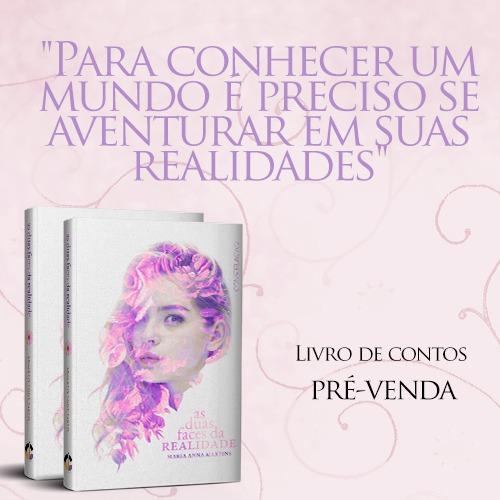 """""""As duas faces da felicidade"""" da autora Maria Anna Martins está na pré-venda e com desconto!"""