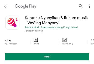 Aplikasi Mantap dan Pro Untuk Karoke 2020 Wesing App