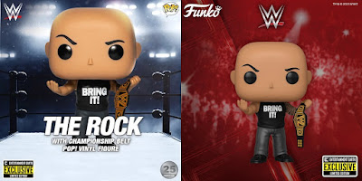 Entertainment Earth Exclusive WWE The Rock Pop! Vinyl Figure by Funko