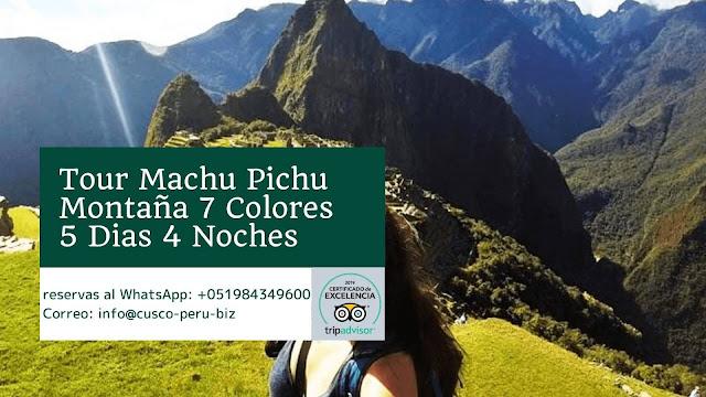 Cusco Machu picchu 5 Dias