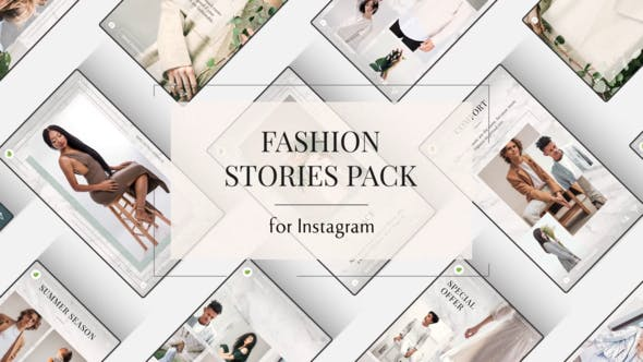 Fashion Instagram Stories[Videohive][After Effects][24554466]