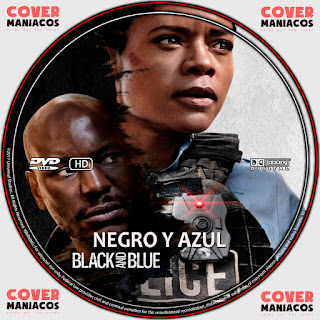 GALLETA NEGRO Y AZUL-BLACK AND BLUE 2019[COVER DVD]