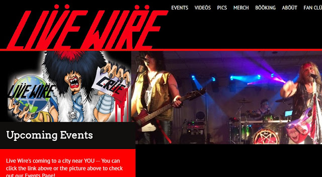 Live Wire The #1 Motley Crue Tribute Band has a new website!