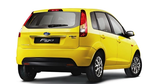 ford figo yellow