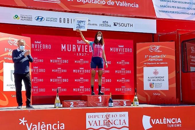 Sandra Alonso remató sexta en la Volta CV