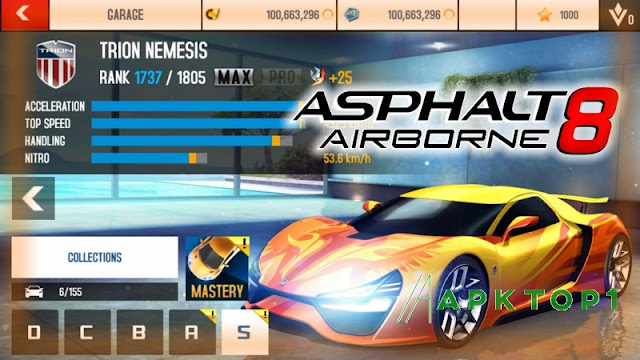 Asphalt 8 Hack Full