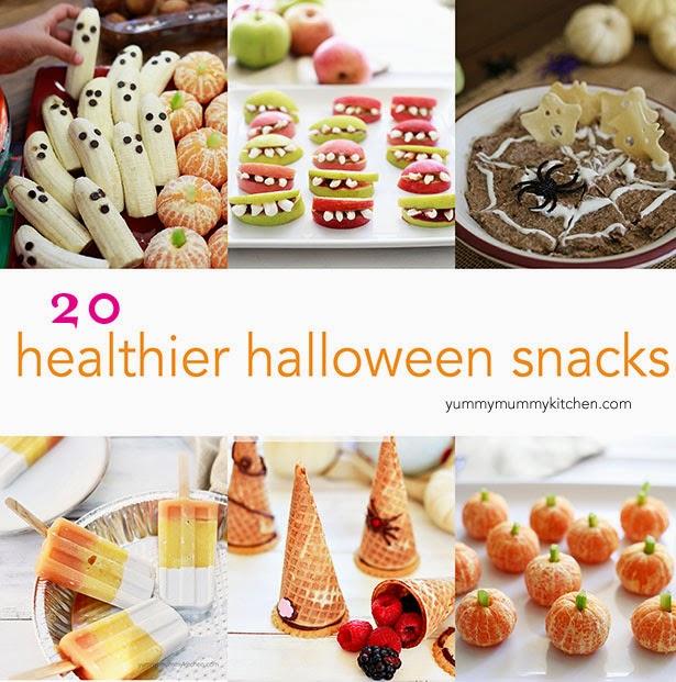 The Yummy Mummy Kitchen Cookbook: 20+ Healthier Halloween Snacks & Recipes