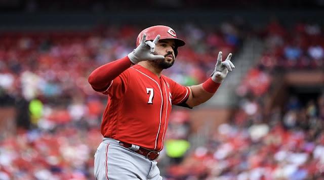 BÉISBOL: Tercera base venezolano Eugenio Suárez Jugadores del Mes de septiembre en MLB.