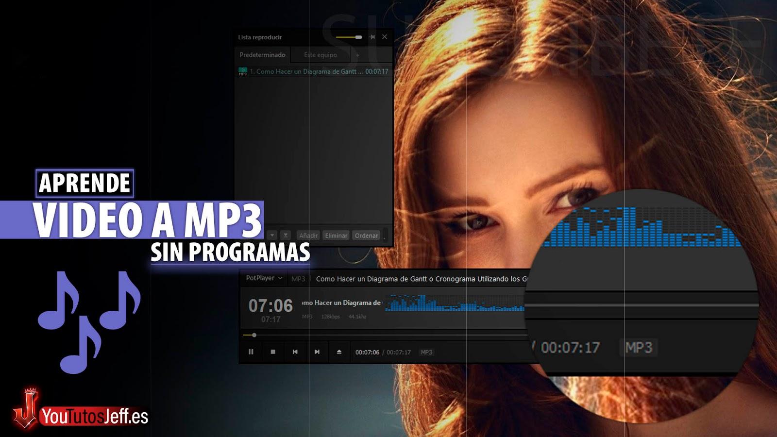 Como Convertir Vídeo a MP3 SIN PROGRAMAS