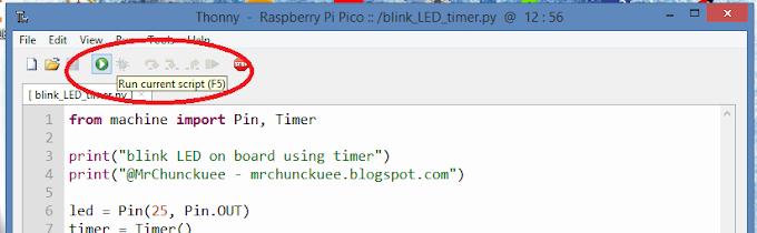 Raspberry Pi Pico: Cargar y borrar archivos, además ejecutar un script por default