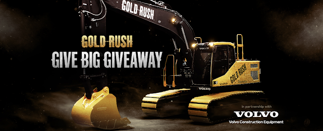 Gold Rush and Volvo are giving back to celebrate 10 years of Gold Rush! Vote every day for your chance to win an Ultimate Fan Prize Package from Gold Rush worth over $400!